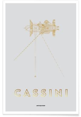 Cassini-Huygens Spacecraft -Poster