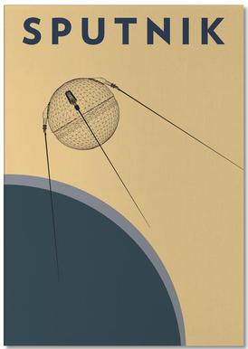 Sputnik 1 -Notizblock