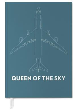 Queen of the Sky Boeing 747 Personal Planner