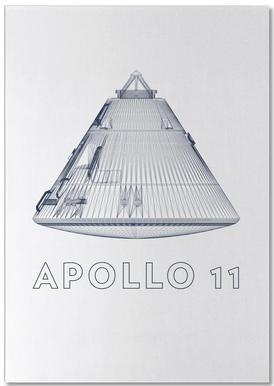 Apollo 11 3 Notepad