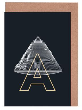 Apollo Midnight 2 Greeting Card Set