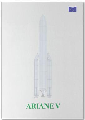 Ariane V V2 02 -Notizblock