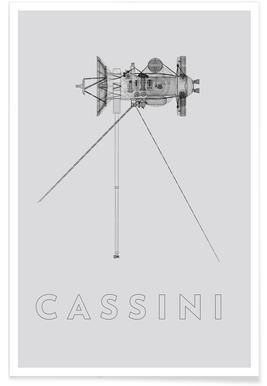 Cassini 2 Plakat