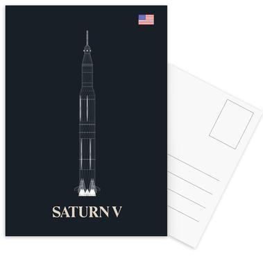 Saturn V 02 ansichtkaartenset