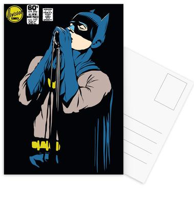 Post-Punk Dark Knight - Shadowplay cartes postales