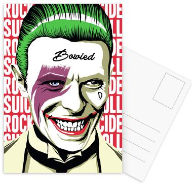 Rock'n'Roll Suicide Postcard Set