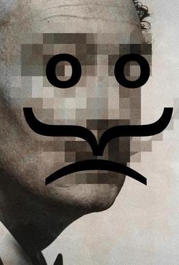 Retro Pop Emoticons Salvador alu dibond