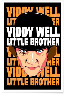 Viddy Well Little Brother -Poster