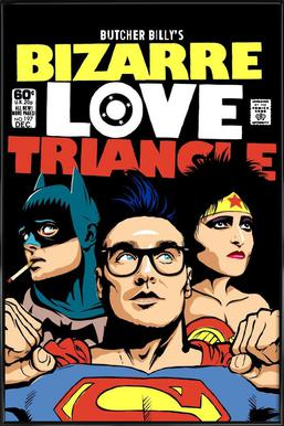 Bizarre Love Triangle Framed Poster