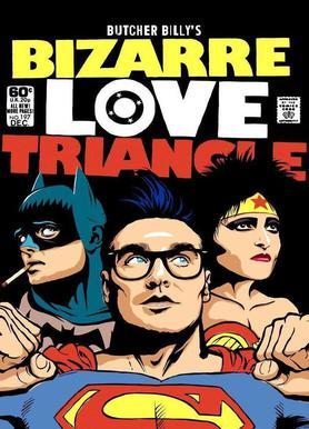 Bizarre Love Triangle Canvas Print