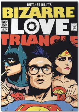 Bizarre Love Triangle bloc-notes