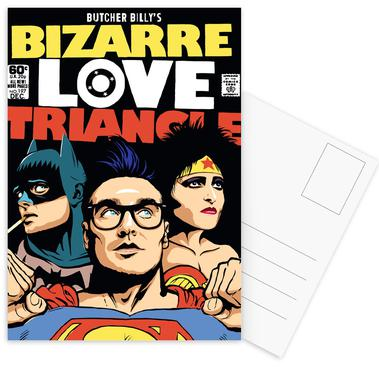 Bizarre Love Triangle -Postkartenset