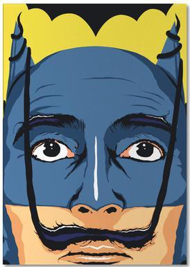 Dali Batman notitieblok