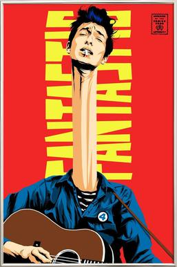 Dylan Mr. Fantastic Poster in Aluminium Frame