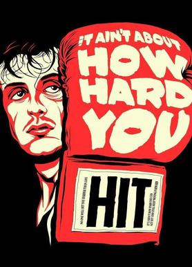 How Hard You Hit canvas doek