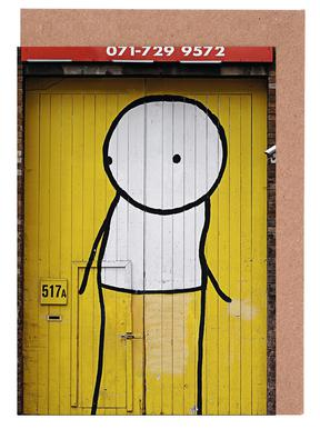Streetart Gelb 1
