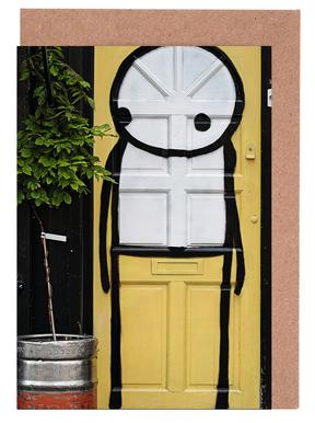 Streetart Gelb 2