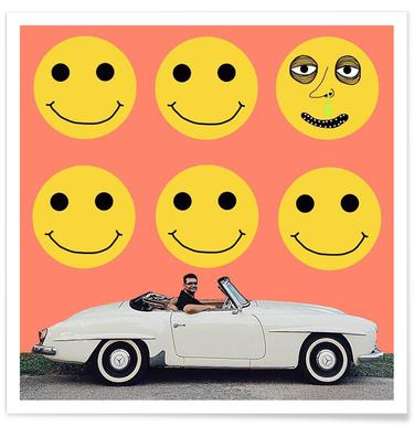 some smiles are more equal than others affiche
