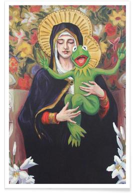 Virgin Of The Lily Pad