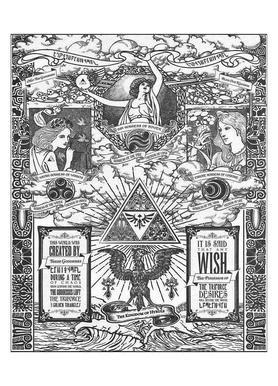 The Three Goddesses of Hyrule Canvas Print
