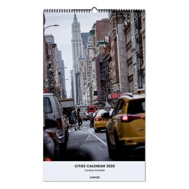 Cities Calendar 2020 - Cordula Schaefer Wall Calendar