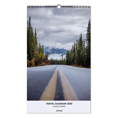 Travel Calendar 2020 - Cordula Schaefer Wall Calendar
