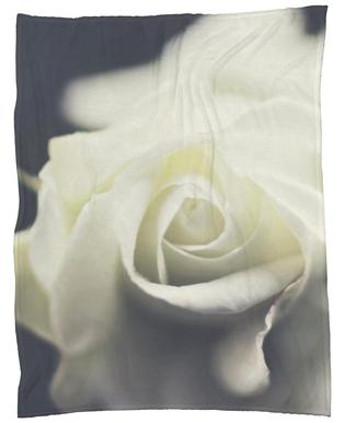 Ivory Fleece Blanket