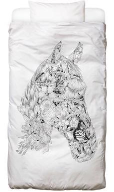 Horse -Kinderbettwäsche