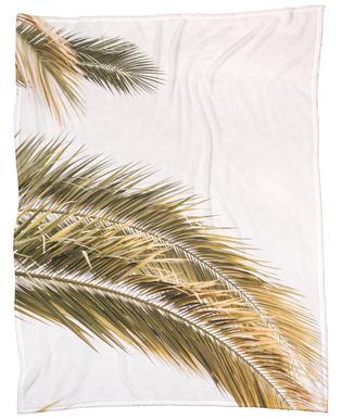 Oasis Palm 2 -Fleecedecke