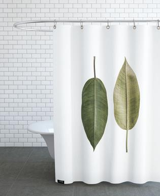 Leaf Study 5 -Duschvorhang