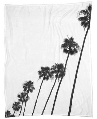 Cali Palms -Fleecedecke