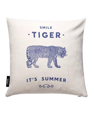 Smile Tiger Cushion Cover