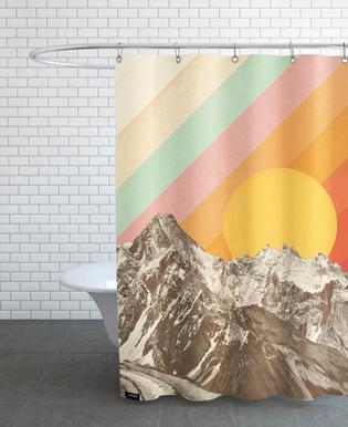 Mountainscape -Duschvorhang