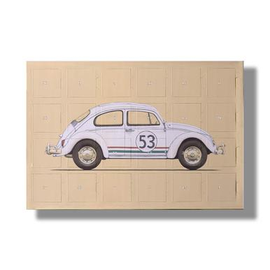 Famous Car 2019 Chocolate Advent Calendar - Kinder