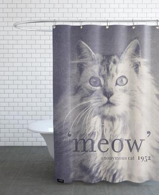 Famous Quote - Cat Shower Curtain