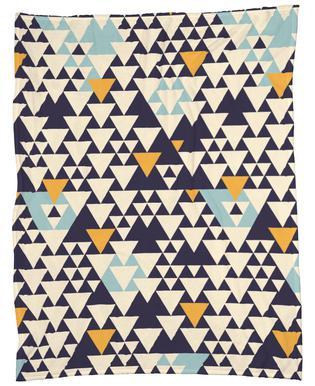Pattern 3 Fleece Blanket