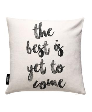 Yet to Come Cushion Cover