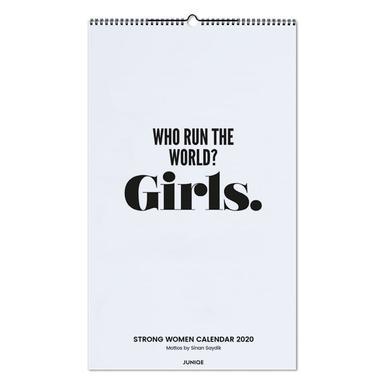 Strong Women Calendar 2020 - Mottos by Sinan Saydik Wall Calendar