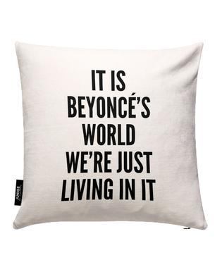 Beyonces World Kissenbezug