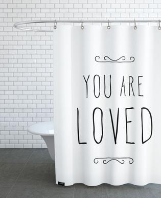 You Are Loved Shower Curtain