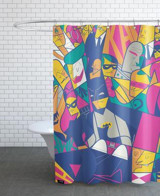 Batman rideau de douche