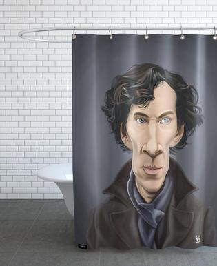 Benedict Cumberbatch Shower Curtain