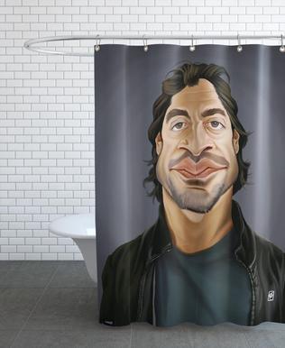 Javier Bardem Shower Curtain