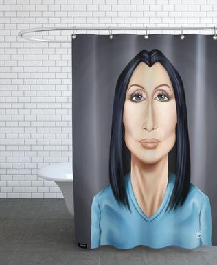 Cher Shower Curtain