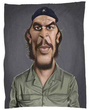 Che Guevara Fleece Blanket