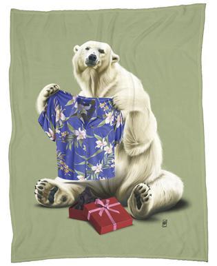Cool! (Colour) Fleece Blanket