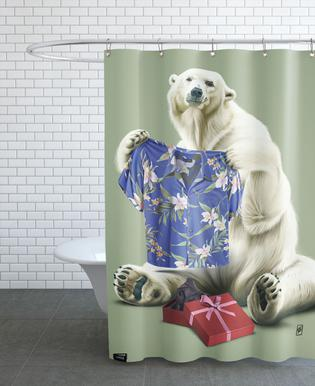Cool! (Colour) Shower Curtain