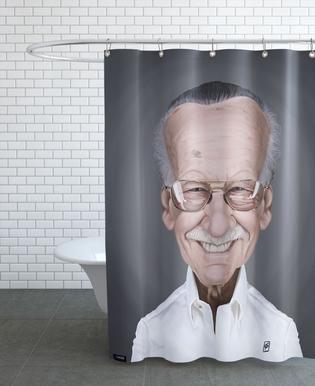 Stan Lee Shower Curtain