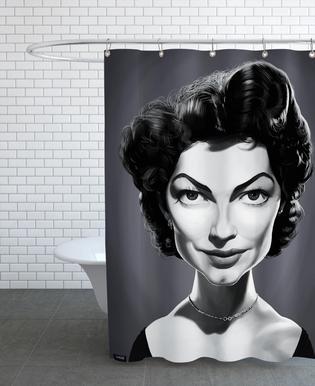 Ava Gardener Shower Curtain
