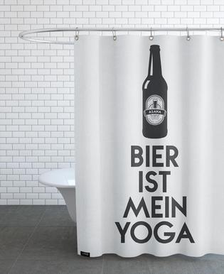 Bier Ist Mein Yoga -Duschvorhang